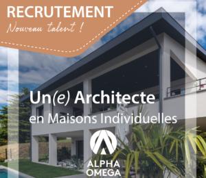 OFFRE D'EMPLOI – ARCHITECTE
